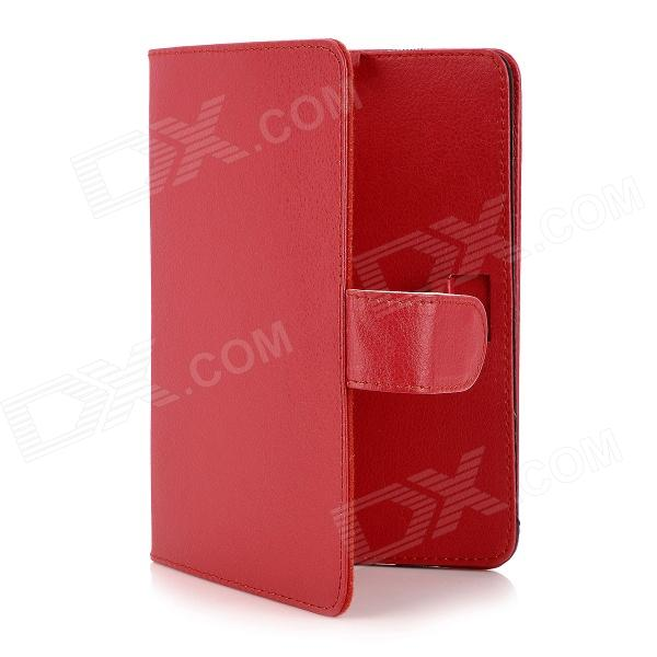 360 Degree Swivel Protective PU Leather Case for 7