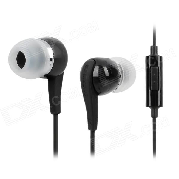 USB Data/Charging Cable + Earphone Set for Samsung N8000 / P5100 / P7500 / P7300 + More - Black