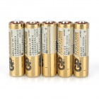 GP Disposable 27A Alkaline Batteries - Golden (5 PCS)
