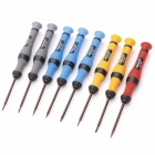 Precise 8-in-1 Screwdriver Tool Set for Cellphone