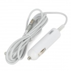 60W Car Cigarette Powered Charger Charging Adapter for Apple MacBook Air / Pro A1172 - White