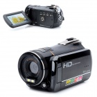 "HDV-J350 HD 5.0MP CMOS Digital Camera Camcorder w/ 3.0"" TFT / 16X Digital Zoom - Black"