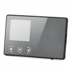 "2-in-1 1.5"" TFT LCD Digital Photo Frame USB 2.0 Flash Drive - Black (4GB)"