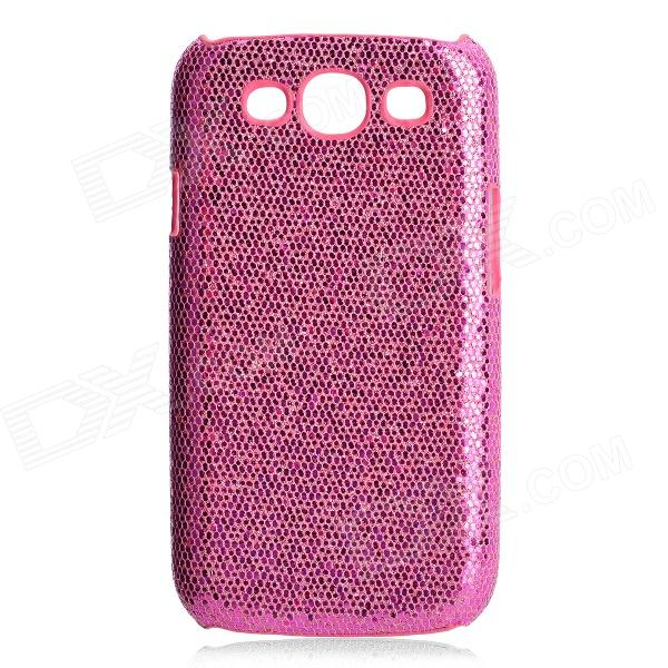 Protective Glittery Paillette PC Plastic Case for Samsung i9300 Galaxy S3 - Pink fashionable protective bumper frame case with bowknot for samsung galaxy s3 i9300 black