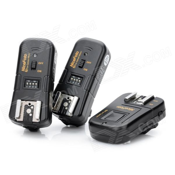 4-in-1 2.4GHz Wireless Remote Flash Trigger Set for Canon SLR