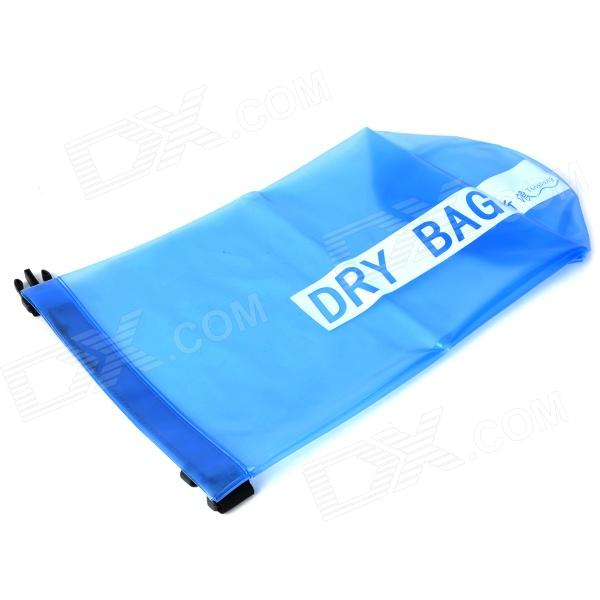 Outdoor Swimming Beach Drifting Water Resistant Dry Bag - Blue