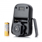 4-en-1 de 2,4 GHz Wireless remoto disparador de flash w / Umbrella Holder Set para Nikon SLR