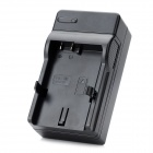 EN-EL14 Battery Charging Cradle w/ Car Charger for Nikon P7100 (100~220V / 2-Flat-Pin Plug)