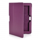 "Protective PU Leather Case for 10.1"" ASUS Transformer Pad TF700T / TF700 - Purple"