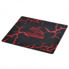 Legend Rubber Gaming Mouse Pad Mat - Red + Black