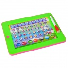 Multi-function Chinese / English Learning Machine for Children - Green + Deep Pink (3 x AAA)