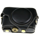 Protective PU Leather Camera Case Bag for Sony DSC-RX100 - Black