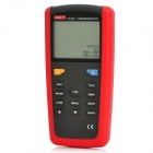 "UNI-T UT323 2.9"" LCD Digital Thermometers - Red + Grey"