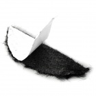 Costume Party Cosplay Artificial Mustache Beards - Black + Brown + White + Grey (12 PCS)