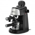iBelieve CM6810 730W Italy Steam Espresso Coffee Maker - Black (240ml / AC 220V / 3-Flat-Pin Plug)