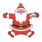 Christmas Santa Claus Style USB 2.0 Flash Drive - Dark Red (16GB)