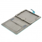 Protective PU Leather Case for Ipad 2 / The New Ipad - Blue