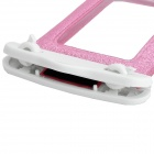 Universal Waterproof Bag with Strap for Iphone / Cell Phone - Glittery Paillette Pink