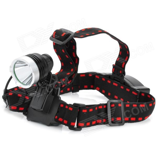 New-882 800lm 5-Mode White Light Headlamp - Black + Silver (1 x 18650) сигнализатор поклевки hoxwell new direction k9 r9 5 1