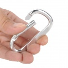 Outdoor Sports Quick Release Aluminum Alloy Carabineer Hook - Silver (10 PCS)