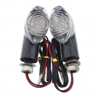 0.96W 60lm 12-LED Yellow Light Motorcycle Steering / Decoration Lamps (2 PCS)