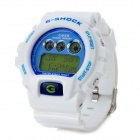 Multifunction PU Band Waterproof Digital Wrist Watch w/ Alarm / Timer - White (1 x CR2025)