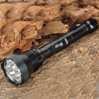 Buy UltraFire 9T6 4500lm 5-Mode Memory White Light Flashlight - Black (2 x 18650)