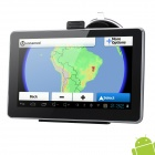 "7"" Resistive Screen Android 4.0 GPS Navigator w/ Brazil + Argentina Map / Built-in 8GB Memory"