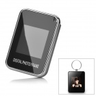 "1.5"" LCD Digital Photo Frame Keychain - Black (16MB)"