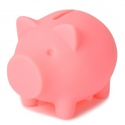 Cute Cartoon Pig Style Coin Bank for Mineral Water Bottle - Pink