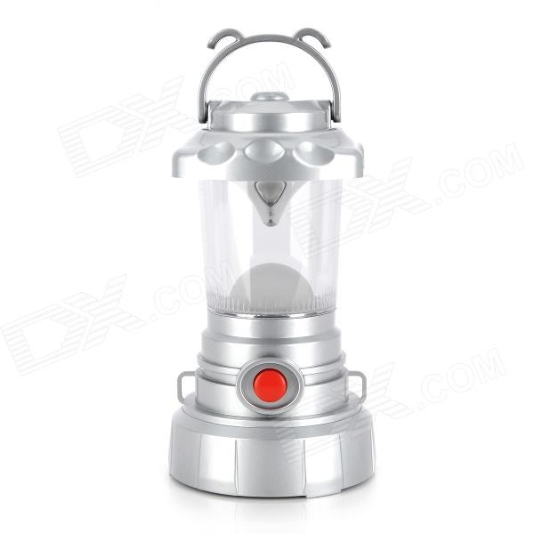 Outdoors 11-LED White Light Bivouac Lantern Lamp - Silver (3 x AA)