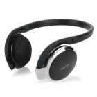 K800 Sporty Rechargeable Bluetooth v2.1 + EDR Stereo Headphone w/ Microphone - Black + Silver