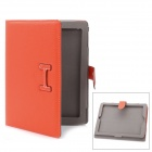 Protective PU Leather Case for Ipad 2 / The New Ipad - Orange