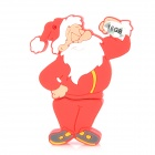 002 Santa Claus Style USB 2.0 Flash Drive - Red (16GB)