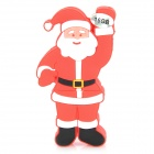 001 Santa Claus Style USB 2.0 Flash Drive - Red (16GB)