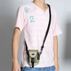 Genuine Sepai B605BR Multifunction Universal Nylon Waist Bag for Camera / Cell Phone - Beige + Brown