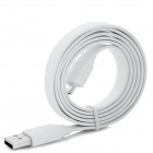USB Male to Micro USB Male Data Charging Flat Cable for Kindle Fire HD 7