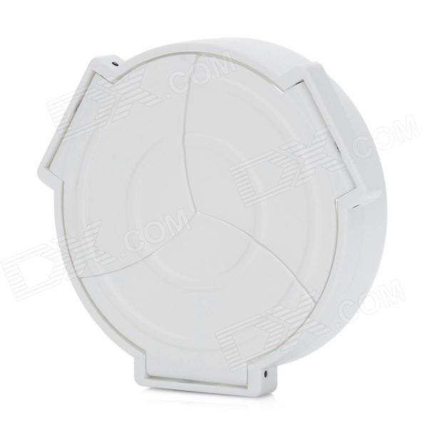 Plastic Automatic Lens Cap for Olympus XZ-1 - White