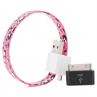 Wrist Style USB Data / Charging Cable with iPhone Adapter (18cm)