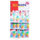 240 Multicolored TPU Bands (12 Packs of 20)