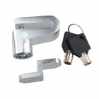 Stainless Steel Motorcycle / Bicycle Burglar-Proof Anti-theft Padlock - Silver