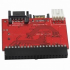 03100140 IDE to SATA Bidirectional Converter Adapter Module - Red