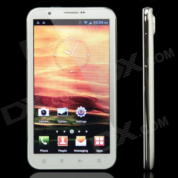 "E1811 Android 4.0.3 WCDMA Tablet Phone w / 6.0 ""Capacitive Screen, Wi-Fi, GPS et Dual-SIM-Blanc"