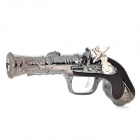 Shock-Your-Friend Electric Shock Pistol w/ White Light Flashlight (1 x AG3)