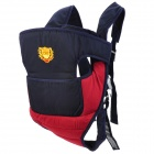 Comfortable Baby Carrier Sling - Dark Blue + Red