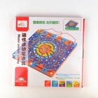 Wooden Magnetic Labyrinth Maze Educational Game Toy