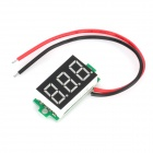 DIY 3-stellige LED-Digital-Voltmeter-Modul für Auto / Motorrad / Electric Vehicle (4 ~ 30V)