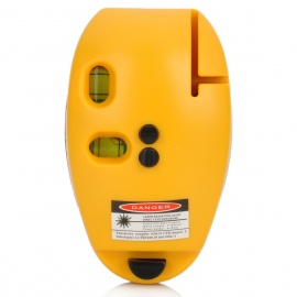SINCON 5mW Red Laser Level - Yellow (2 x AAA)