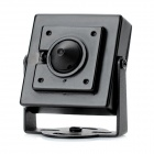 "SX-3034 1/3"" CMOS 73 Degree CCTV Video Camera - Black (DC 12V)"