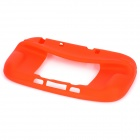 Protective Durable Soft Silicone Case Cover for Wii U - Red